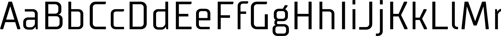 TT Supermolot Condensed Regular Font
