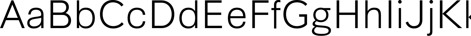Synthese Light Font