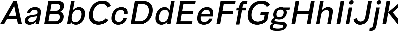 Synthese Oblique Font