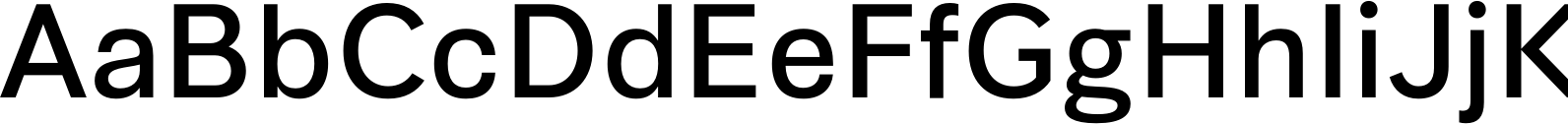 Synthese Regular Font