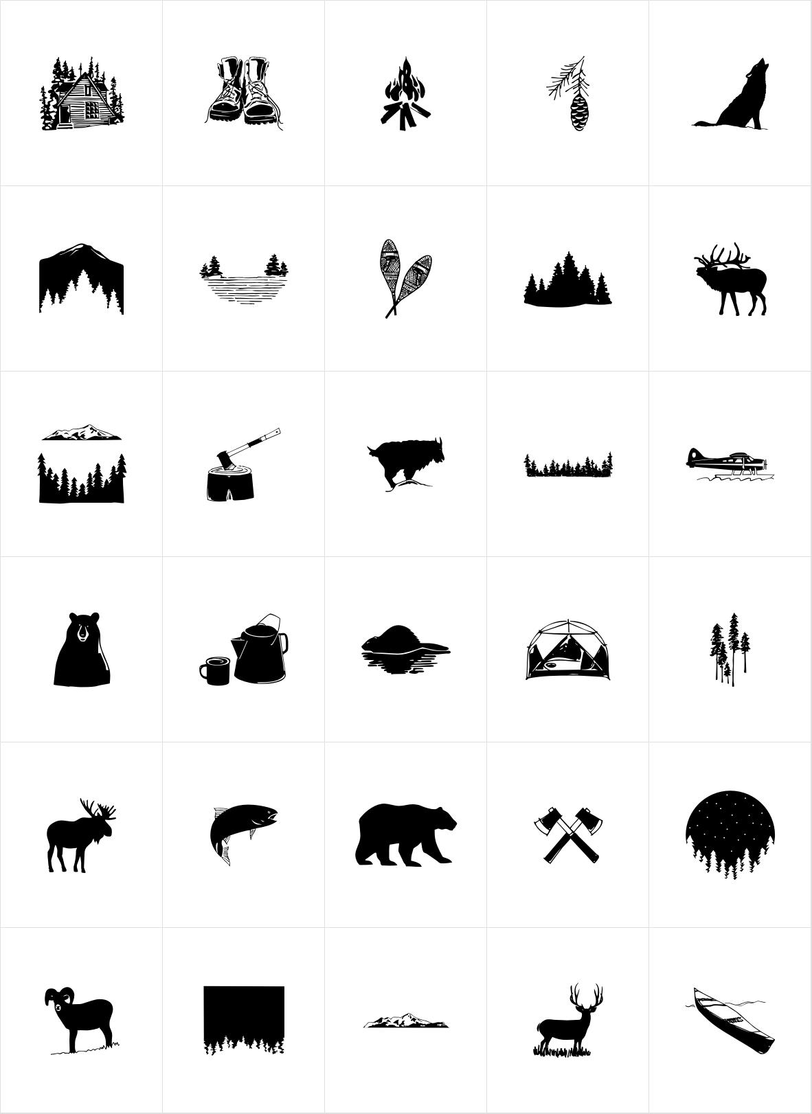 Wilderness Doodles