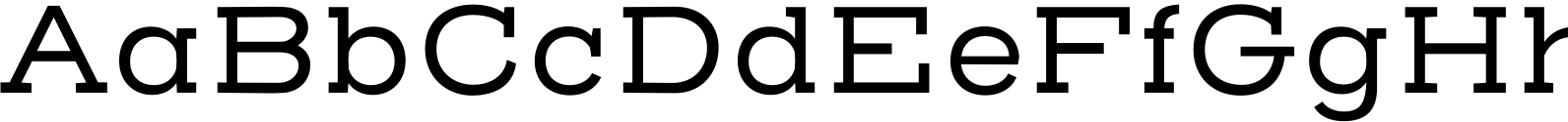Henderson Slab Regular Font