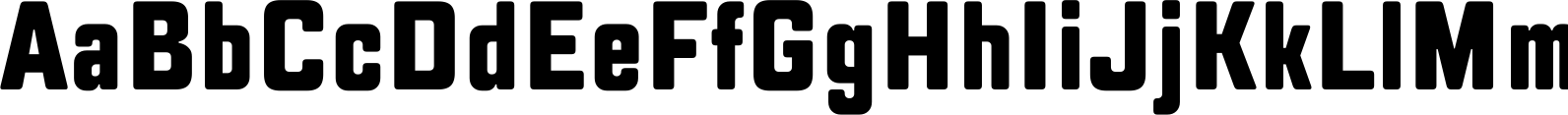 TT Lakes Compressed ExtraBold Font