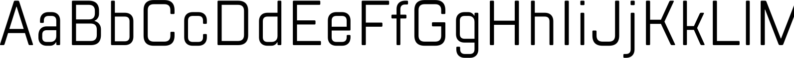 TT Lakes Condensed Regular Font