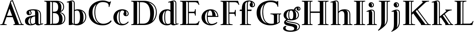 Fnord Engraved Font