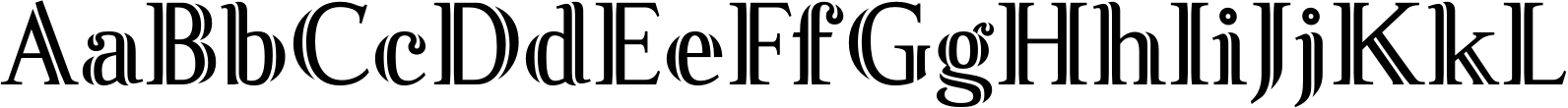Fnord Inline Font