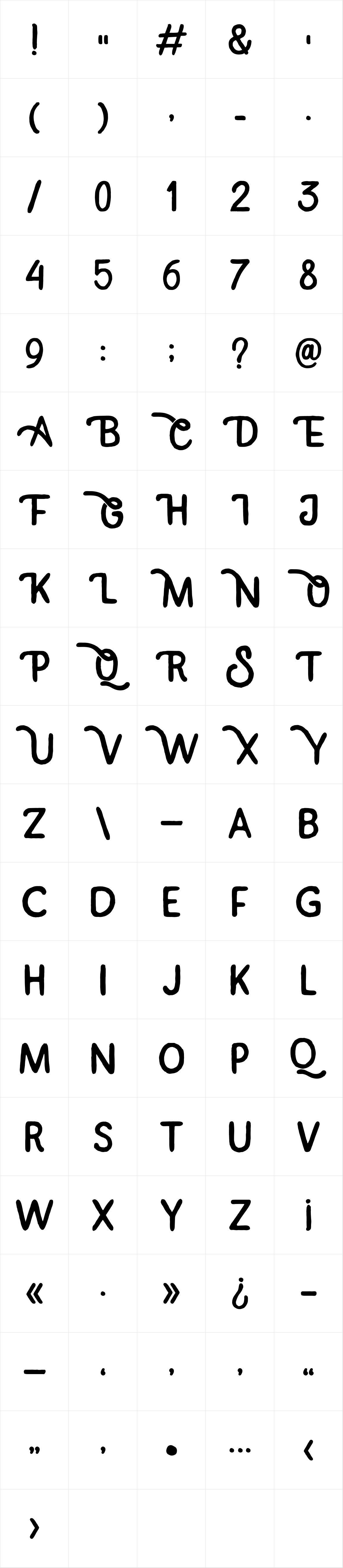 Himalaya Sans Serif