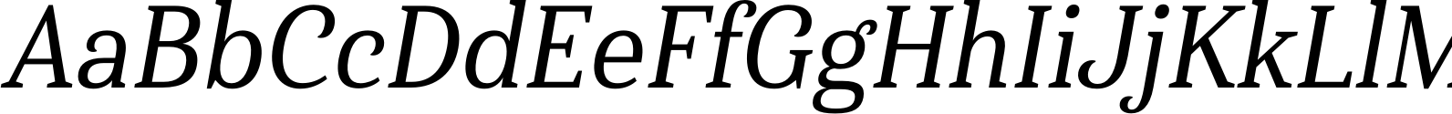 Haboro Serif Cond Medium It Font