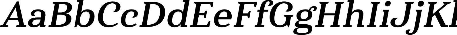 Haboro Serif Norm Bold It Font