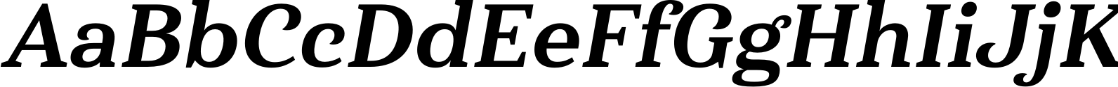 Haboro Serif Norm ExBold It Font