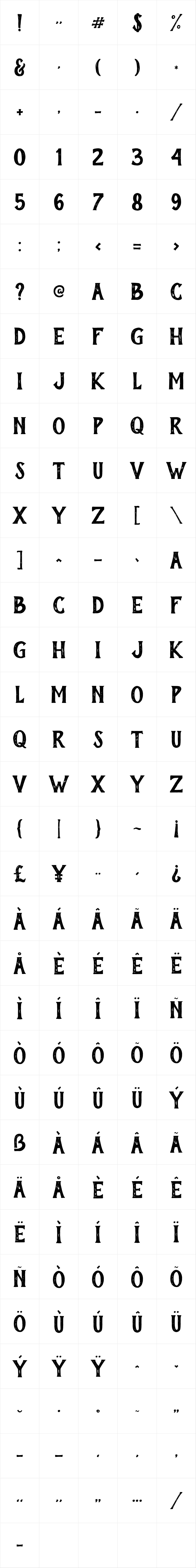 Mightype Bold Serif