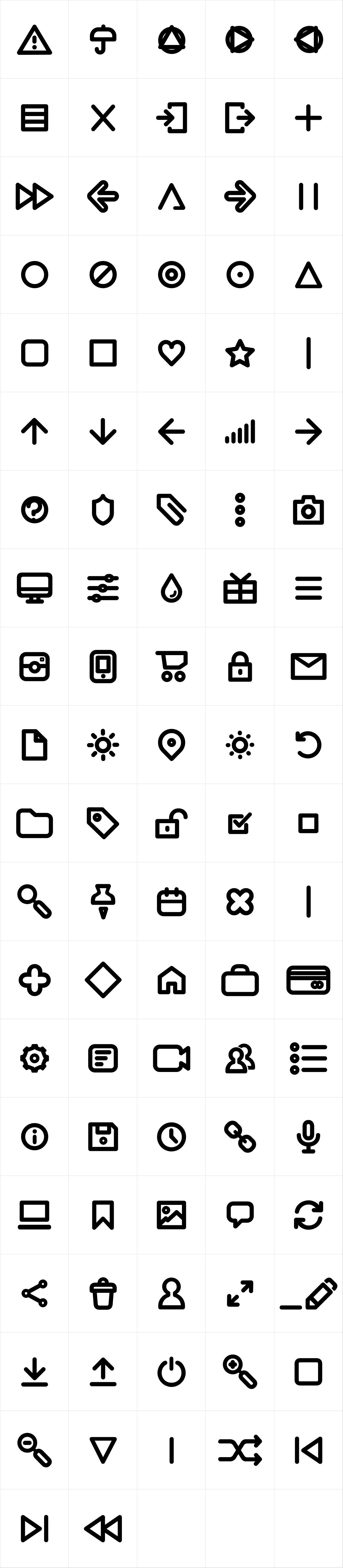 Antipasto Icons DemiBold
