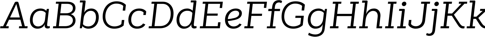 Weekly Alt Regular Italic Font