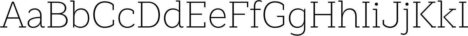 Weekly UltraLight Font