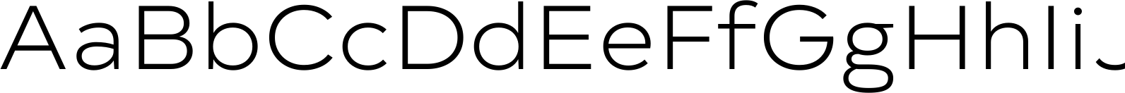 Typold Extended Light Font