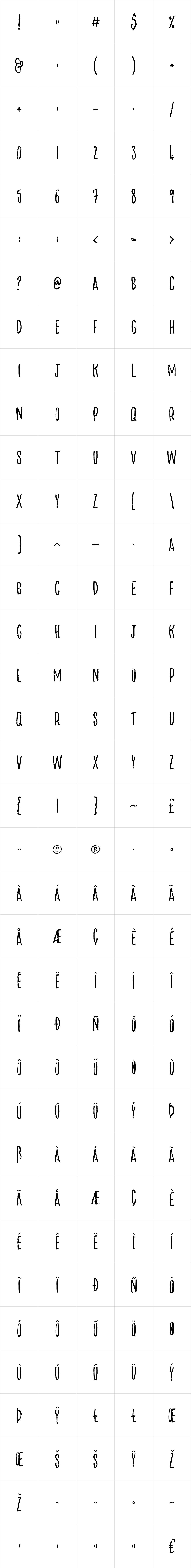 Lucky Fellas Serif