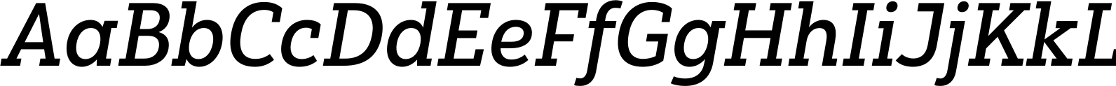 Yorkten Slab Normal Medium Italic Font