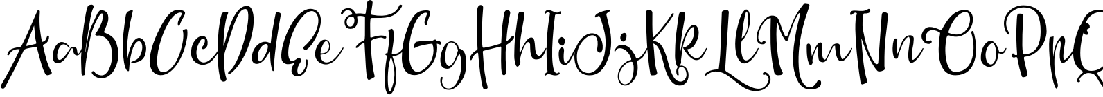 New Monday Script Two Font