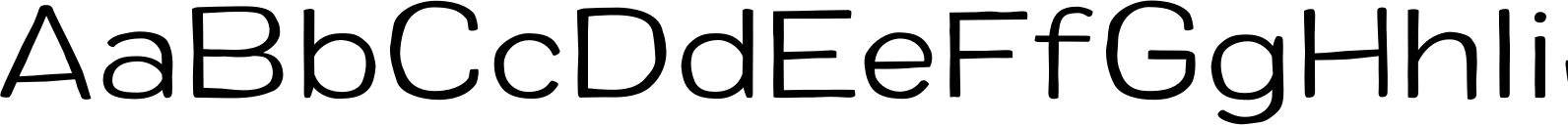Colby Wide Light Font