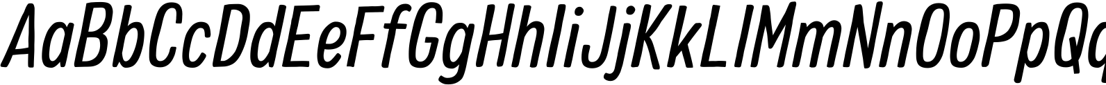 Colby Condensed Regular Italic Font