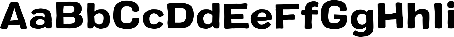 Colby Extended Bold Font
