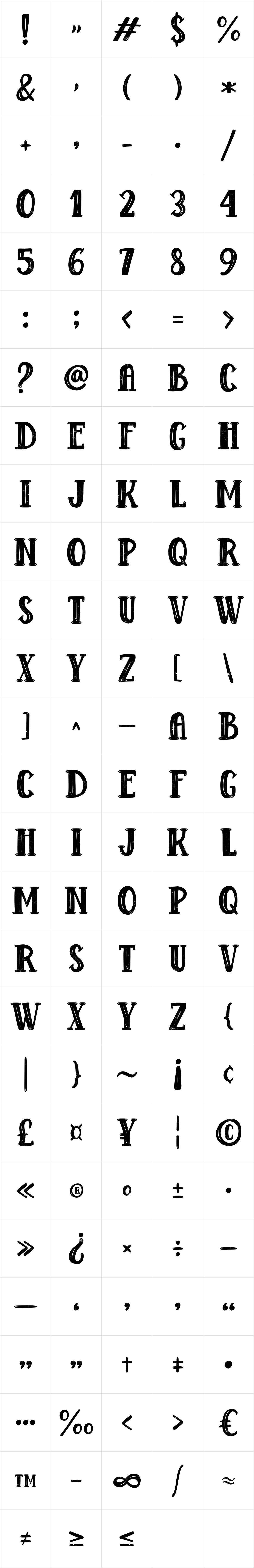 Douglas Wolves Serif