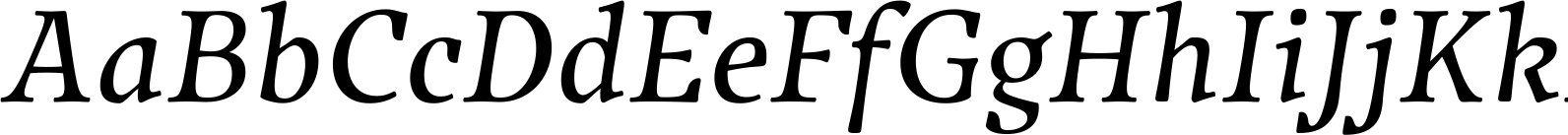 Traction Italic Font