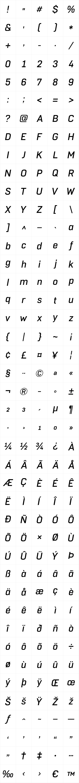 Normative Lt Medium Italic