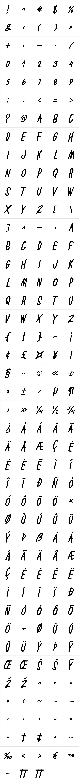 Battallion Hand Italic
