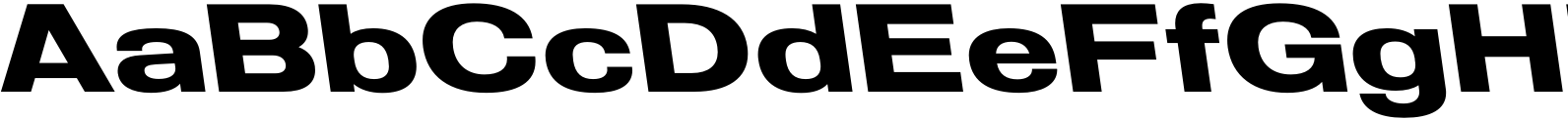 Molde Expanded Bold Reverse Font