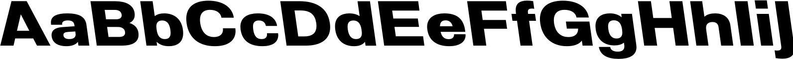 Molde SemiExpanded Bold Reverse Font