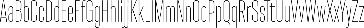 Molde Compressed UltraLight Font