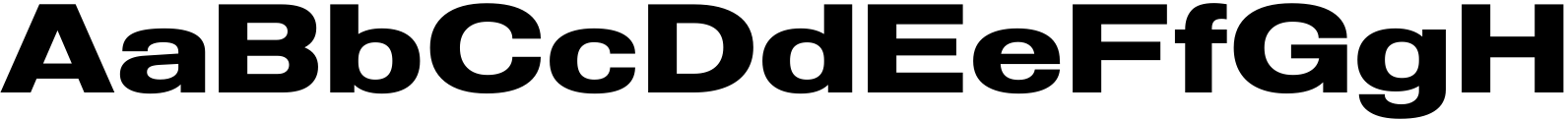 Molde Expanded Bold Font