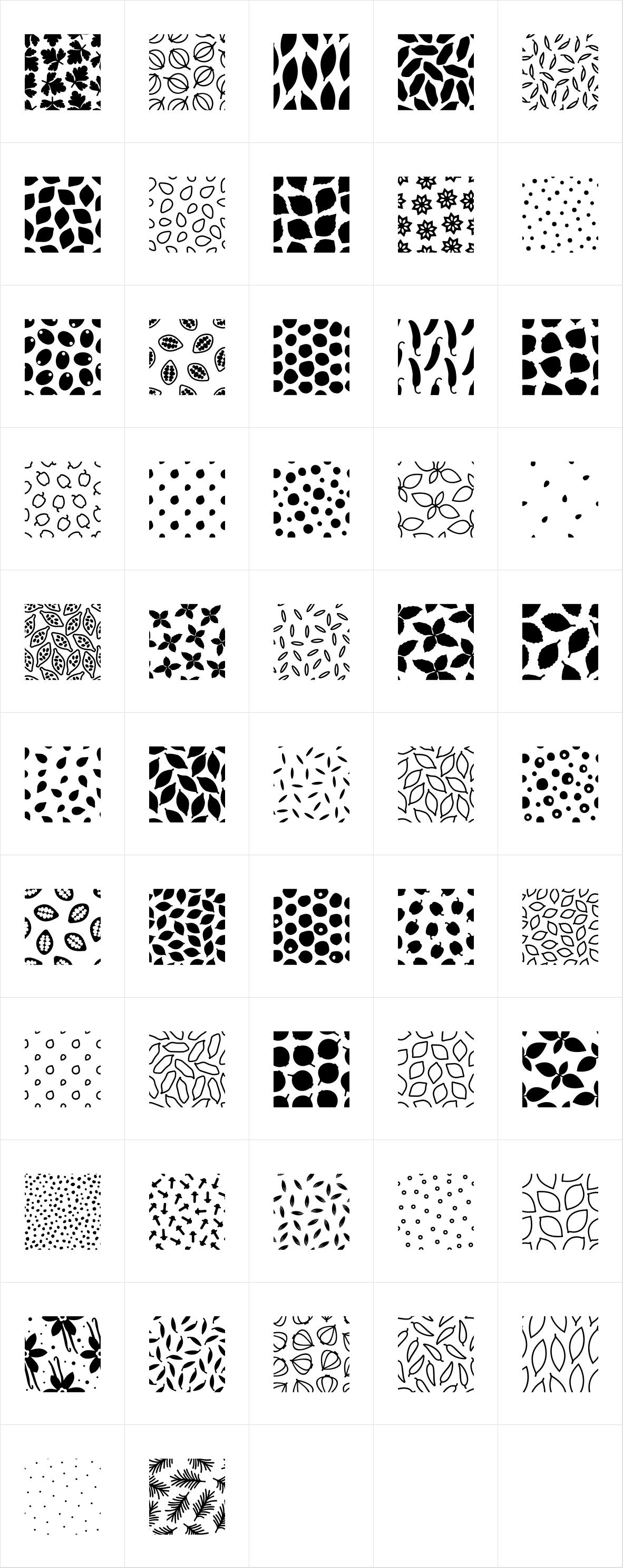 Aromatica Patterns