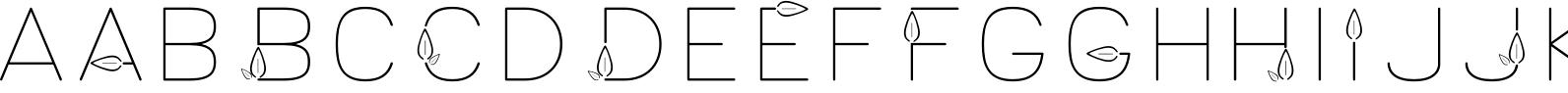Lush Typeface