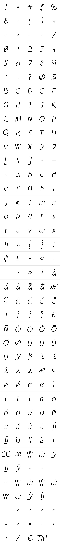 Anchor Italic