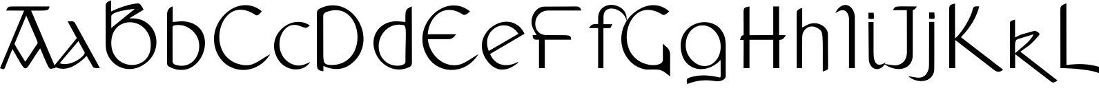 Anchor Regular Font