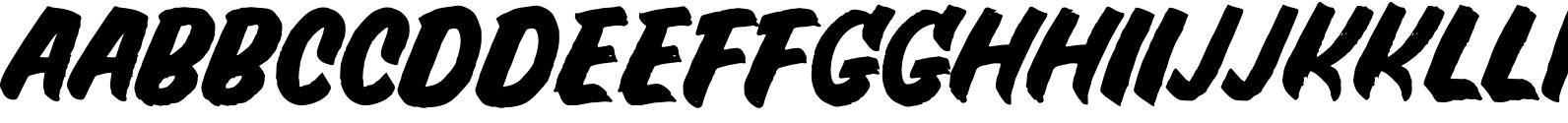 Crude OpenTypeSvg