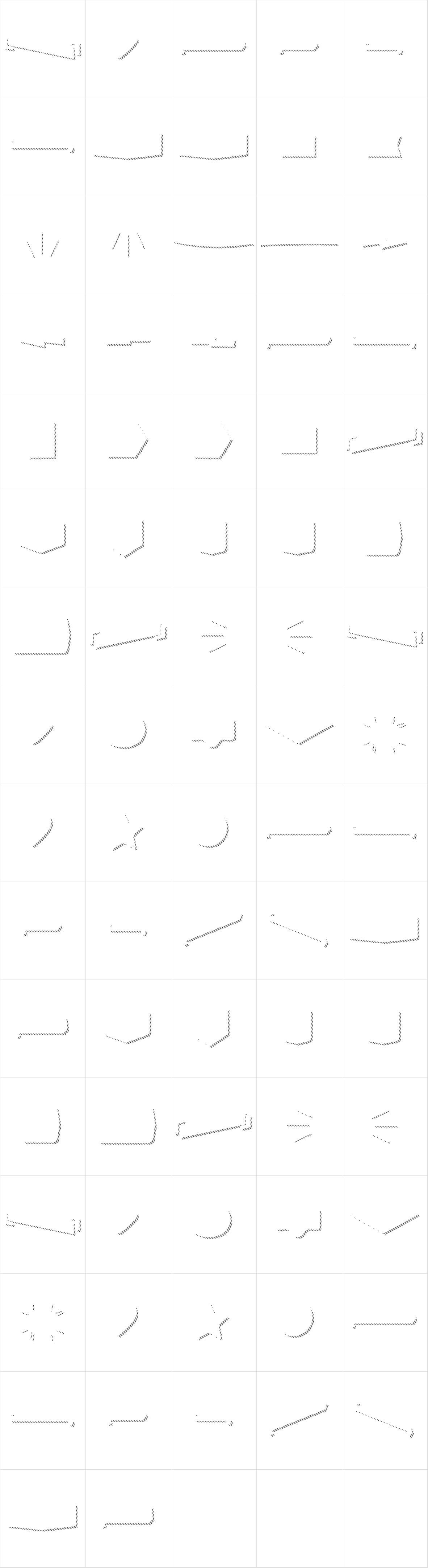 Alquitran Pro Dingbat Shape Shadow Line