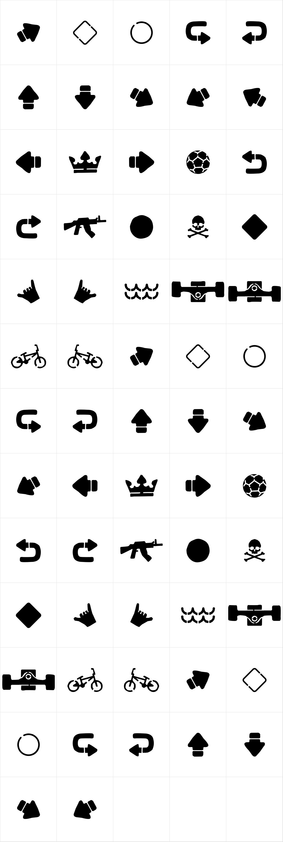 Alquitran Stencil Extra
