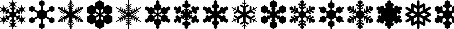 Snowflake Assortment