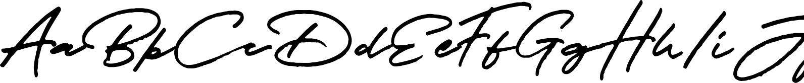 JV Signature (SVG Font)