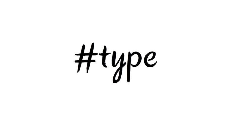 Hashtag Type