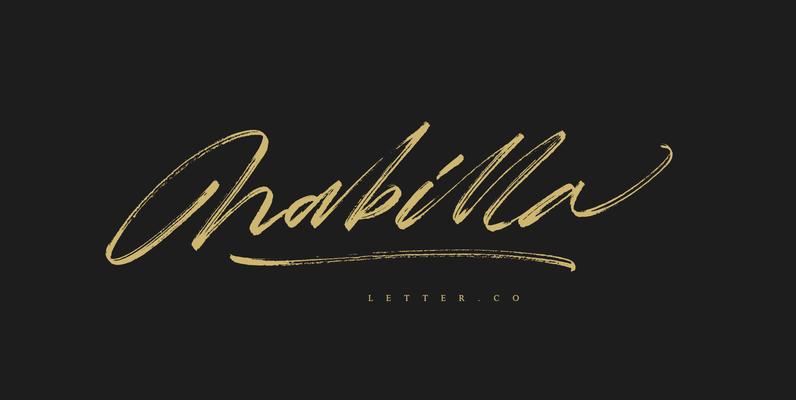 Nabilla Letter.co