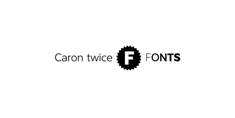 Caron twice