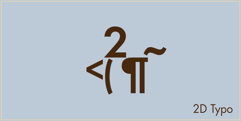 2D Typo