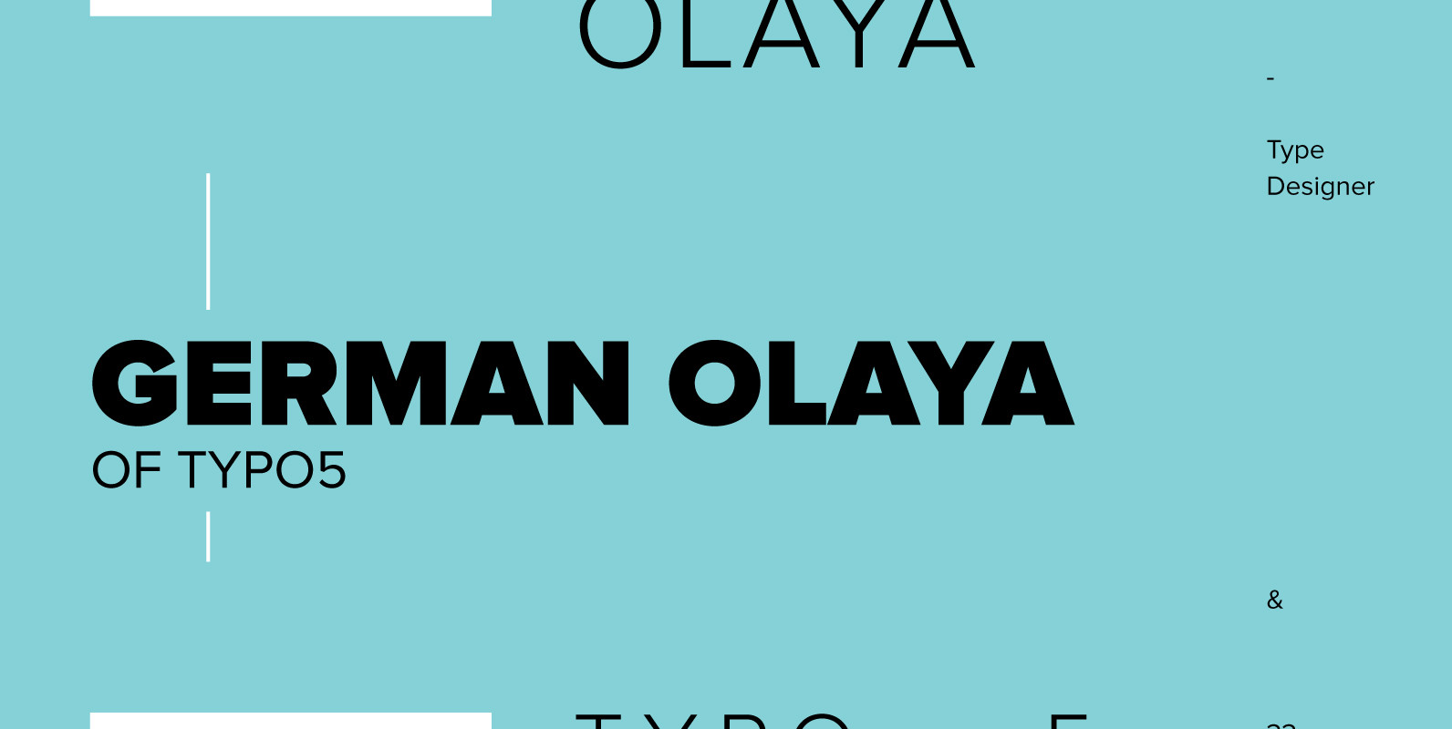 German Olaya of Typo5