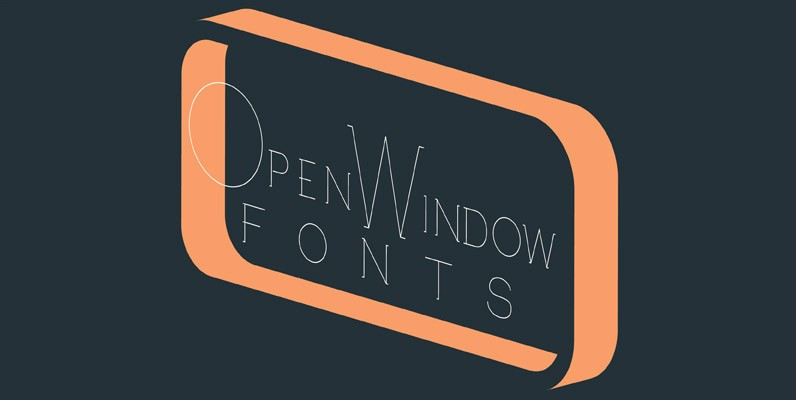 Open Window Fonts