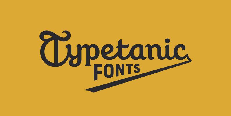 Typetanic Fonts