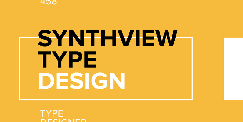 synthview type design